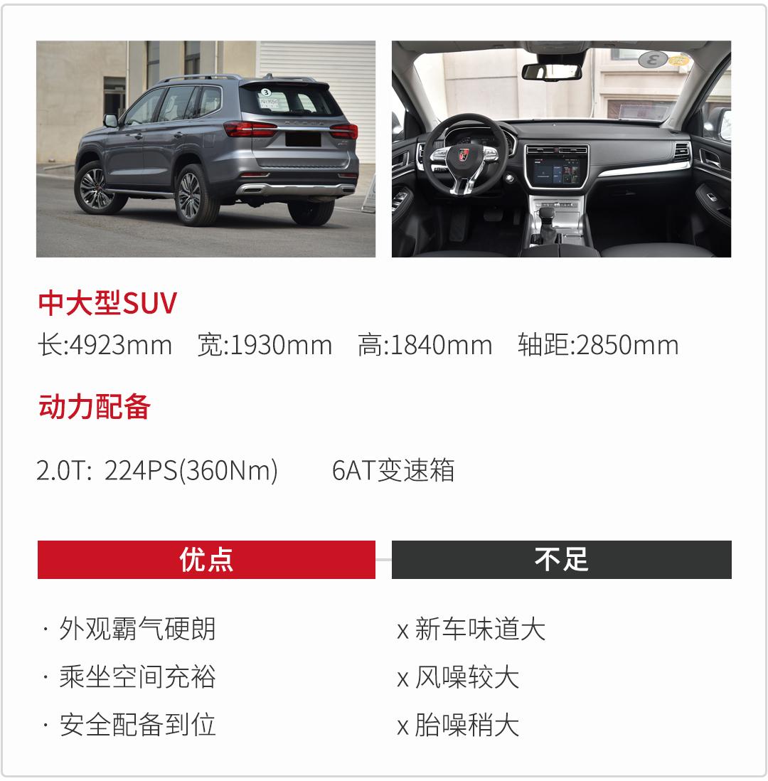 17万买近5米长的大个子SUV,这3款够霸气,很有料!