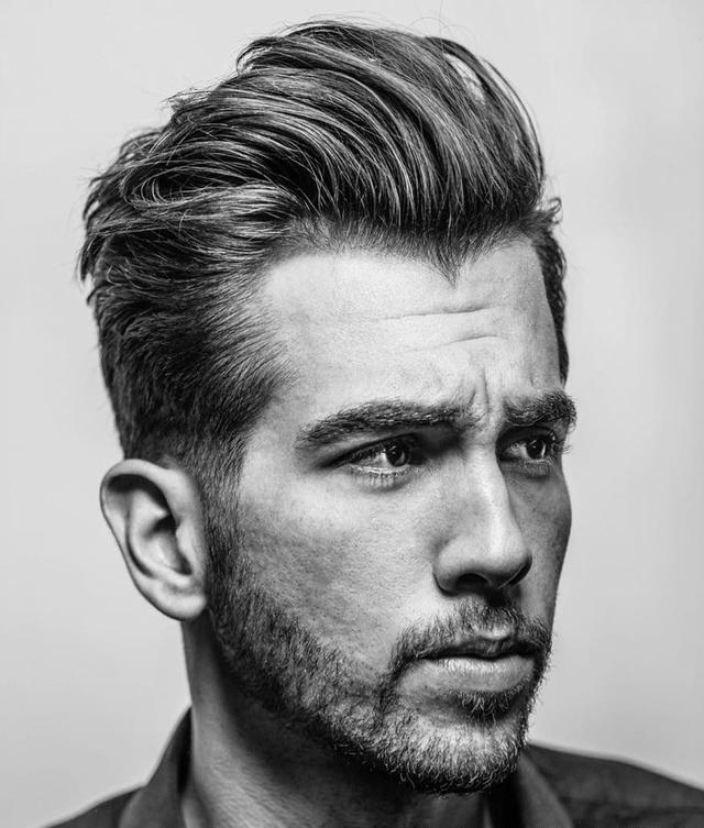 20款阳光帅气的男生发型图片