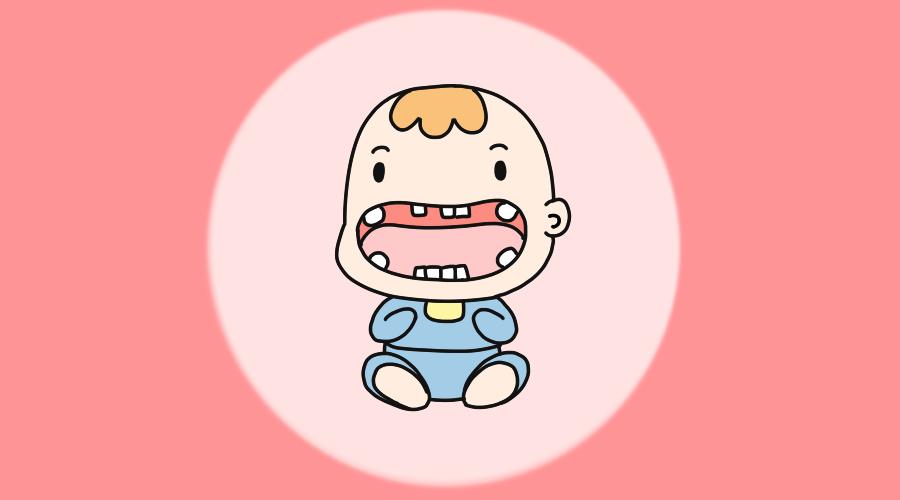 一张图告诉你宝宝长牙顺序,看看宝宝正不正常