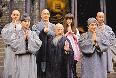还和吴京的电视剧《太极宗师》《新少林寺》《少林武王》中扮演吴京的图片