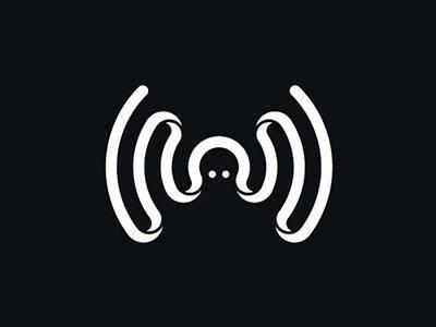 可爱的wifi创意logo设计作品图片