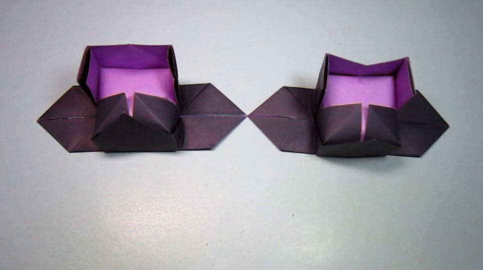 2分钟用一张纸就能学会乌纱帽的折法,简单的帽子手工图片