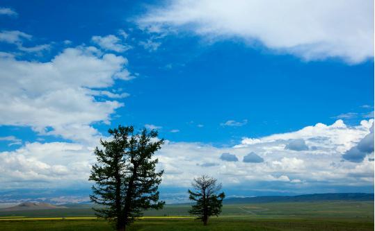 风景美得像屏保图的新疆巴里坤:曾有神秘天象持续近30