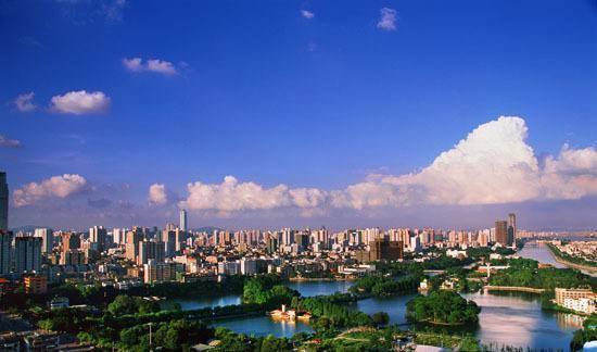 广州最富的三个区,风景秀丽 景色宜人