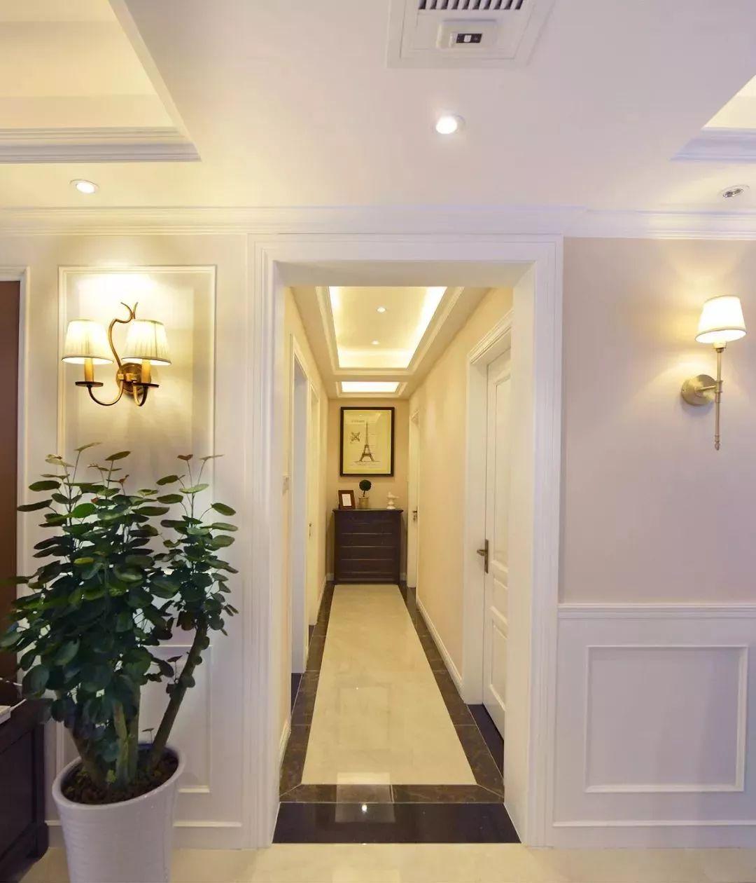走廊瓷砖造型图片