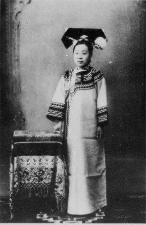 清朝将军衣服手绘