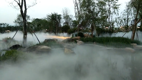 四川江油市民又多了一个休闲娱乐的好去处,明月岛公园对外开放!