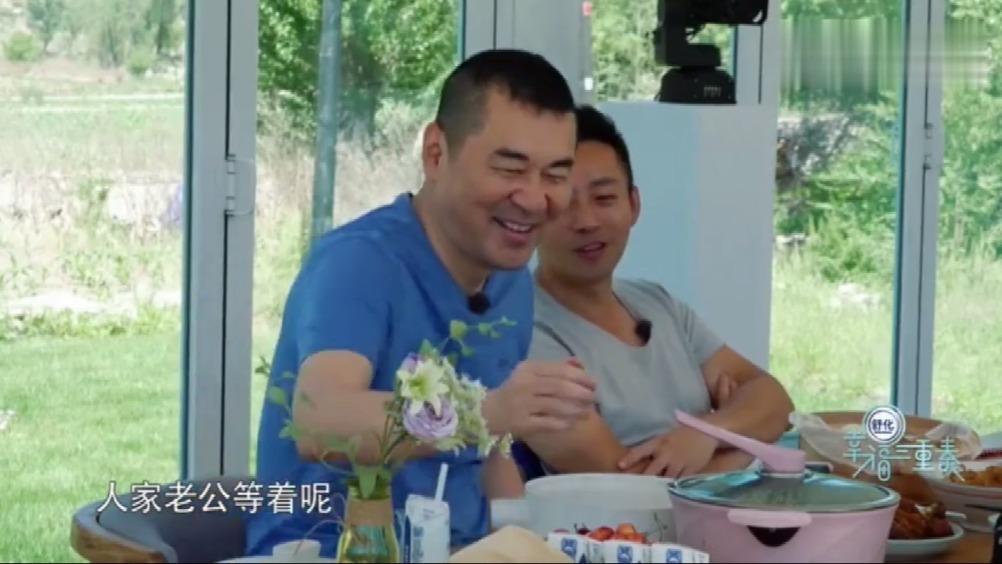 汪小菲夫妇,陈建斌首次见到王楠就一起吃饭,直夸福原爱厨艺好!