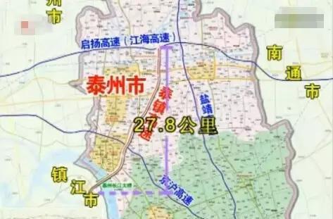 泰州大桥南接线,扬泰机场扩建,宁启二期今年建成!