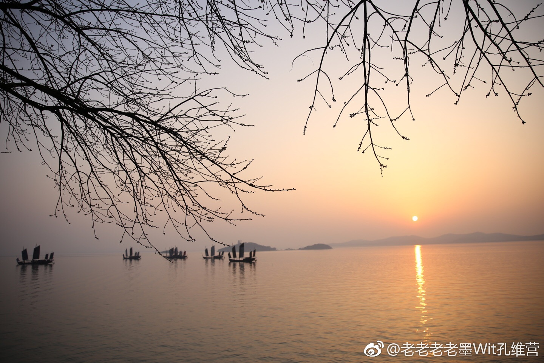 鼋头渚的黄昏,也是美极了@无锡市旅游局 @无锡太湖鼋头渚风景区 @新浪图片