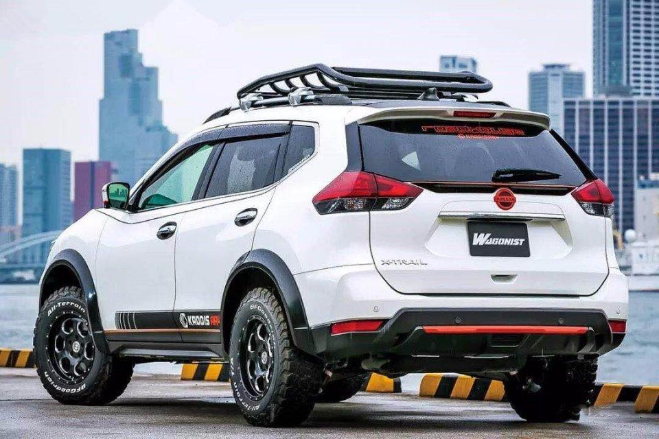 城市SUV也有狂野的一面,日产奇骏改装后真是霸气外露!