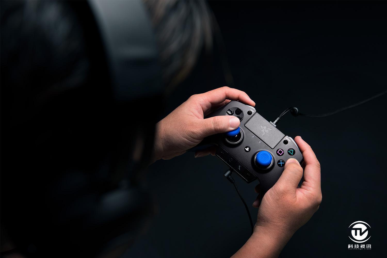 堪比手柄开挂!雷蛇飓兽PS4游戏教程视频v手柄yuyu睡物理篮婴儿安装图片