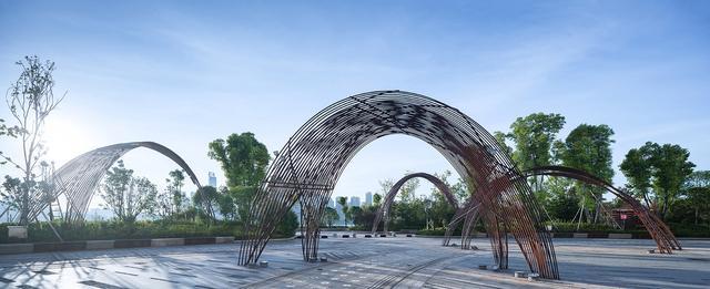 景观设计:打造有归属感的户型城市,长沙湘江西60空间如何平装修设计小图片
