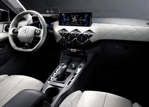 DS全新SUV曝光,外形个性时尚,内饰奢华精致,这才叫设计!