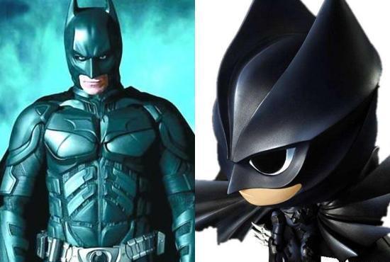 q版钢铁侠,q版蜘蛛侠,q版蝙蝠侠,q版黑豹,你喜欢哪一个