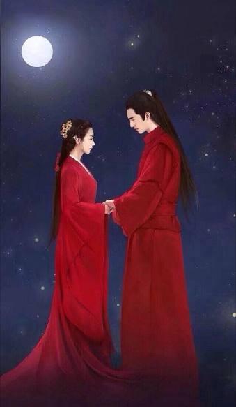 """《楚乔传2》""""双王""""上线,网友手绘赵丽颖,林更新大婚照"""
