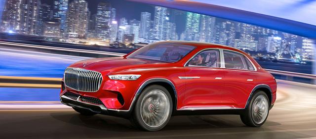 三厢SUV还是跨界轿车?迈巴赫Ultimate Luxury让人看不懂