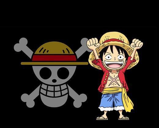 简单9步 画出恐怖个性的海贼王的骷髅头旗标图案 卡通简笔画