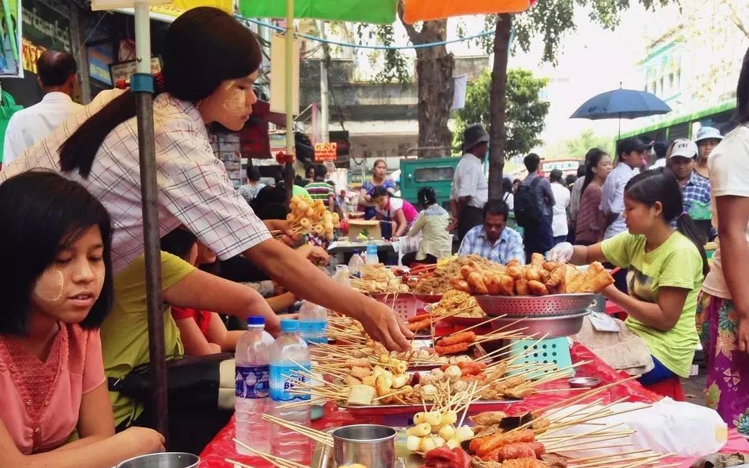 缅甸有些美食平民,你可美食没吃过!v美食绿园城根本发周围图片