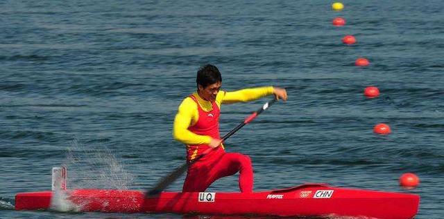 体育魅力:中国皮划艇运动员王日炜木兰扇应美风第五套图片