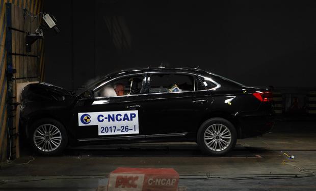 12月16号,中国汽研中心第四批C-NCAP成绩公布,有一款车亮了