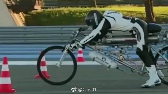 特斯拉?不存在的   火箭自行车在此 专治各种四轮   cars01车闻...