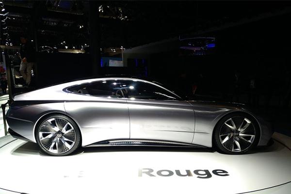 跑车定位,现代Le Fil Rouge概念车亮相北京车展