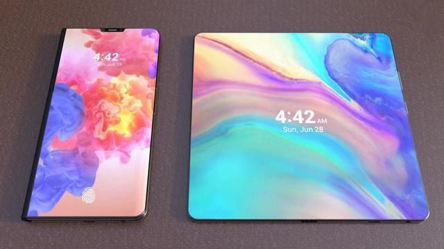 华为MateX:三屏幕设计 iPhoneX用户肠子悔青