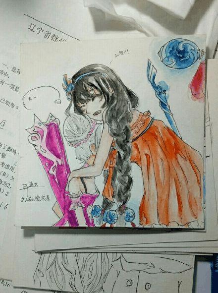 王者荣耀:网友手绘恶搞英雄,庄周鲲被偷了,cp灵魂互换