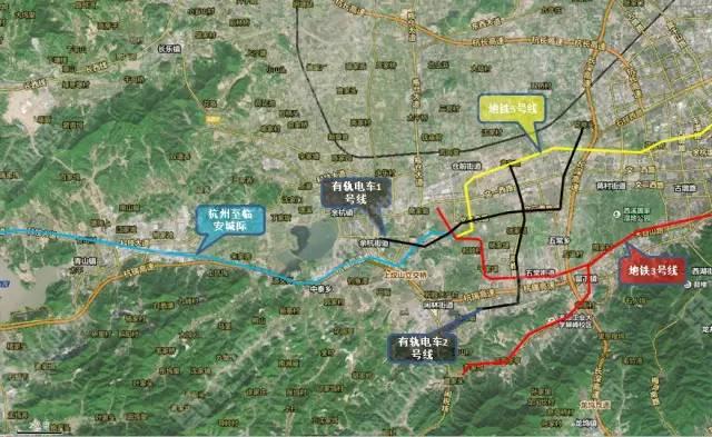 临安主城区社区规划图