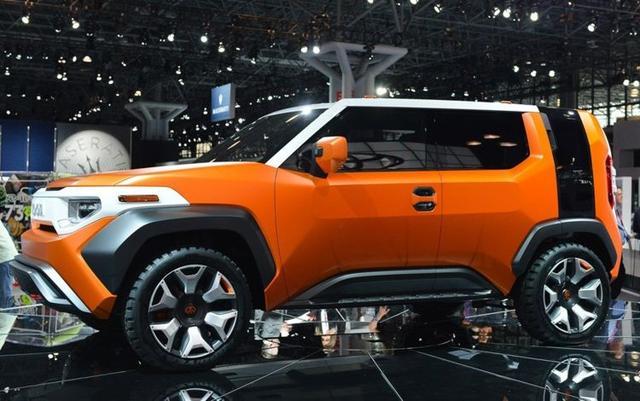 丰田发布的这款FT-4X概念车,集越野性与舒适性于一身