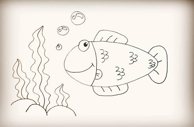 【绘画教程】简单的创意简笔画