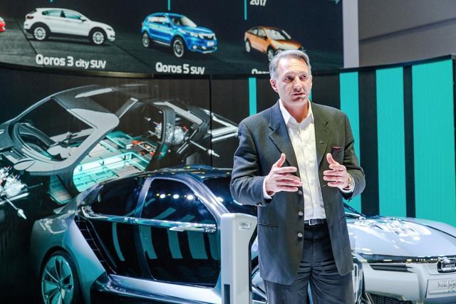 """""""两栖战略""""初现,观致发布超级电动车Model K-EV"""