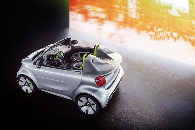 巴黎车展:Smart再次致敬经典,把20年的精华全放在这车