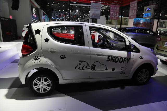 江铃E200新能源车,4万级别纯电动之选将亮相2018盐城国际车展!