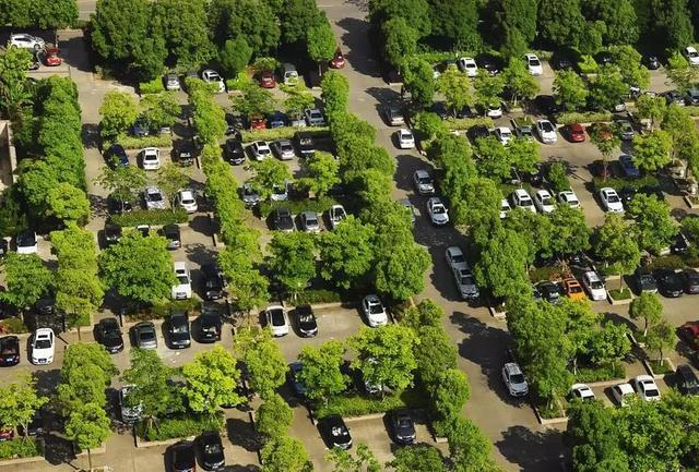 创建国家aaaaa级旅游景区,生态停车场很重要图片