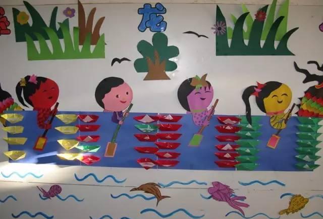 「端午节环创」幼儿园端午节手工制作 环境创设