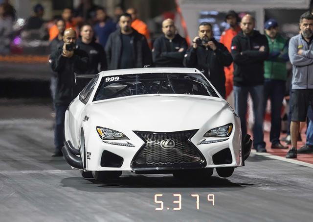 Ekanoo Racing创造Doorslammer组别世界纪录