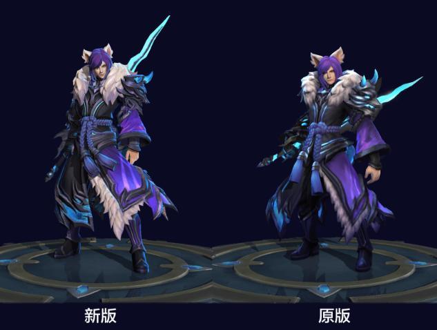 王者荣耀李白重塑模型即将上线 范海辛千年之狐全新动