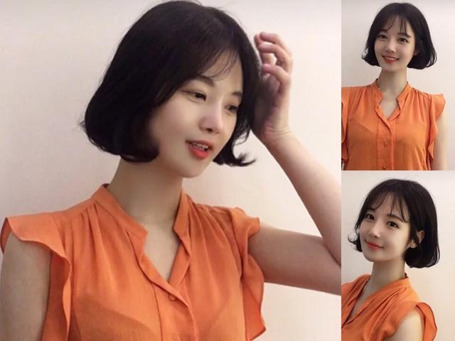 超显俏皮可爱的短发发型,减龄又修颜!