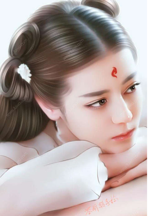 明星手绘图简直美呆了,赵丽颖鹿晗简直美到了极点