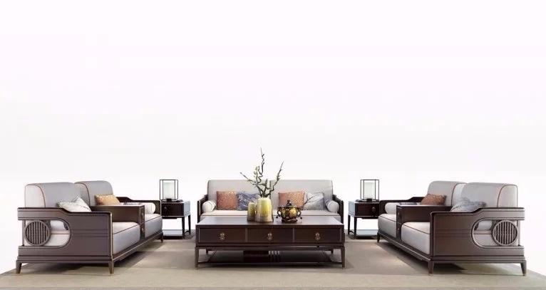 现在很多人在设计家具的时候,一味讲求简约而忽视了功能,闻檀新中式在图片