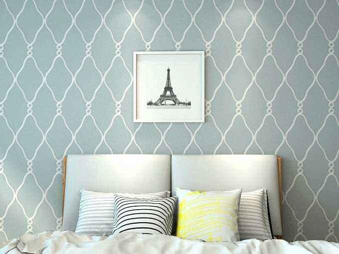 硅藻泥卧室床头效果图 10张硅藻泥卧室床头效果图推荐