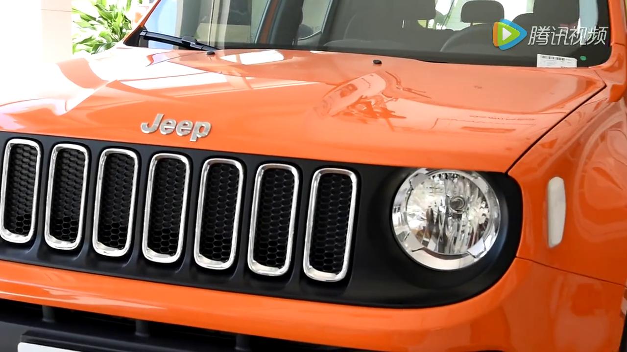 Jeep旗下最小SUV 自由侠 2016款 AT高能