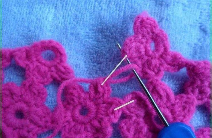手工编织毛衣款式儿童小背心连衣裙的钩法详细教程