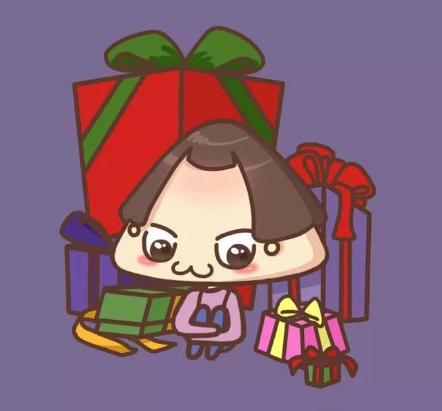 励志漫画:圣诞节可爱漫画头像