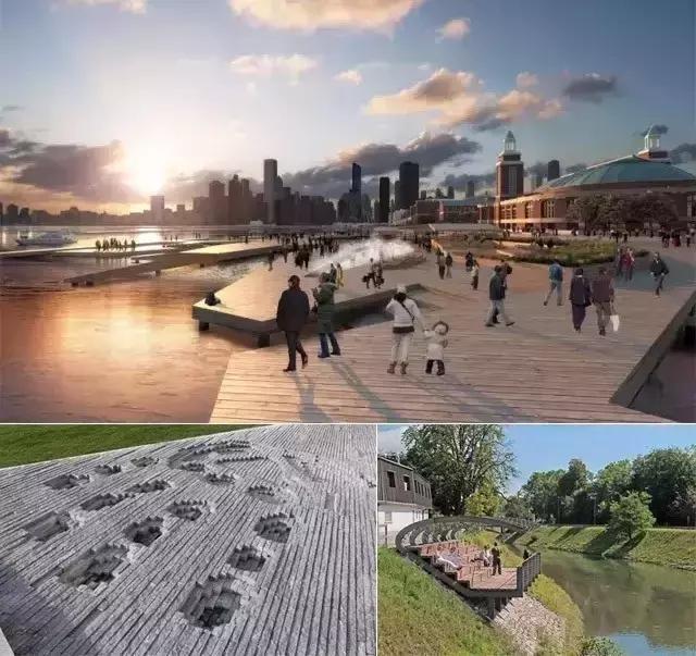 河道景观设计方法探析|堤岸|亲水平台|景观_新浪网图片
