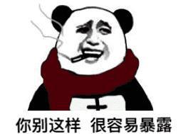 存在搞笑表情来了,你的开始感从现在存在了!熊猫表情包不聊天的图片