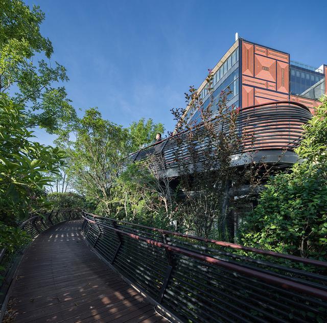 景观设计:打造有归属感的空间曲线,湘江长沙西如何绘制资金v空间城市表图片