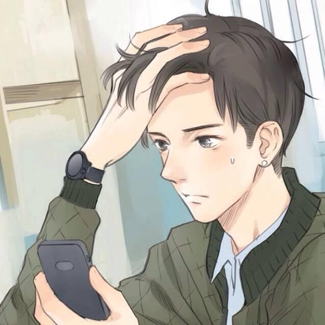 「动漫男生头像」宁愿孤独也不要在患得患失中被辜负.